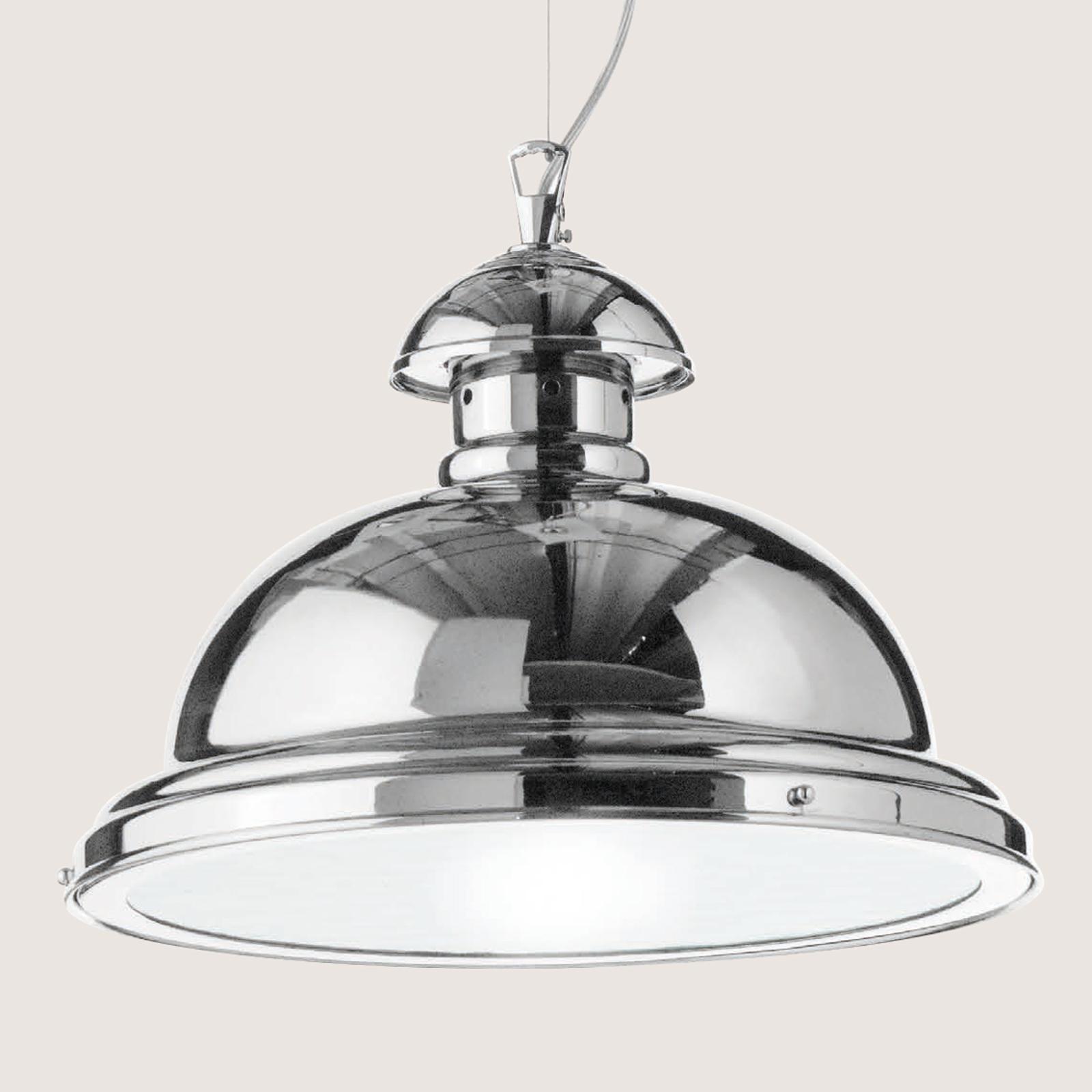 Lampa wisząca Scirocco, 35cm chromowana błyszcząca