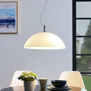 Lucande Lourenco sospensione, vetro opale, 45 cm