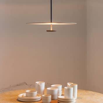 Vibia Flat -LED-riippuvalo, 1-lamppuinen DALI dim