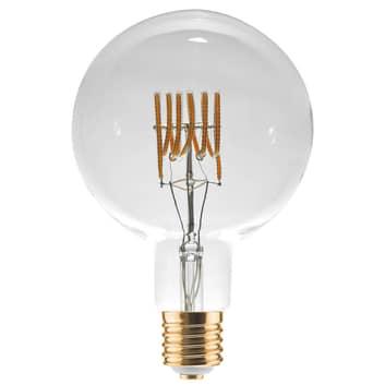 LED Grand Globe Curved Spirale E40 18W, warmweiß