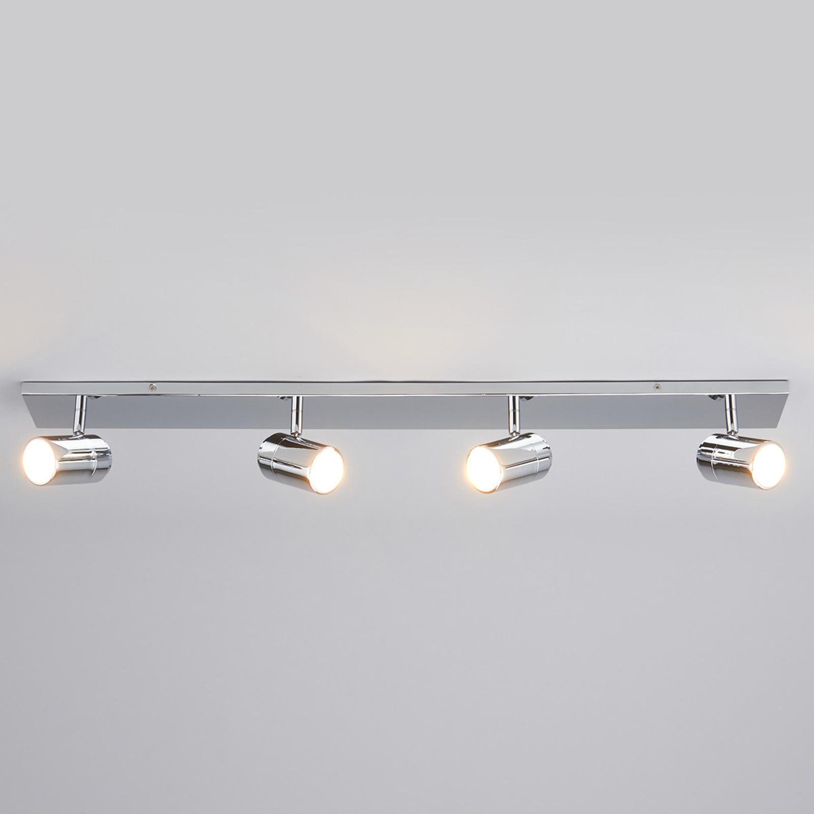 Lampada da soffitto per bagno Dejan a 4 luci