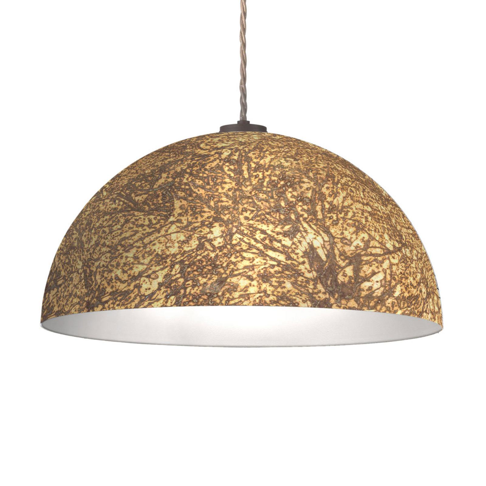 Lampa wisząca Cult Vintage, złota, Ø 50 cm