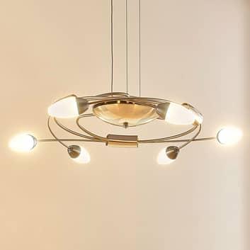 Lámpara colgante LED Deyan, atenuable, 6 luces
