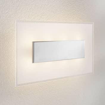 LED-wandlamp Lole met glazen kap, 59 x 29 cm