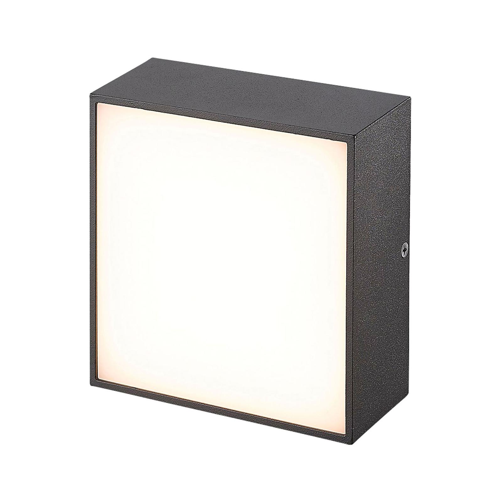 LED-Außenwandleuchte CMD 9023, 14 x 14 cm