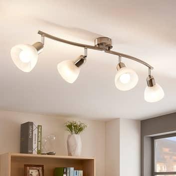 Discrete LED plafondlamp Paulina, 4-lamps