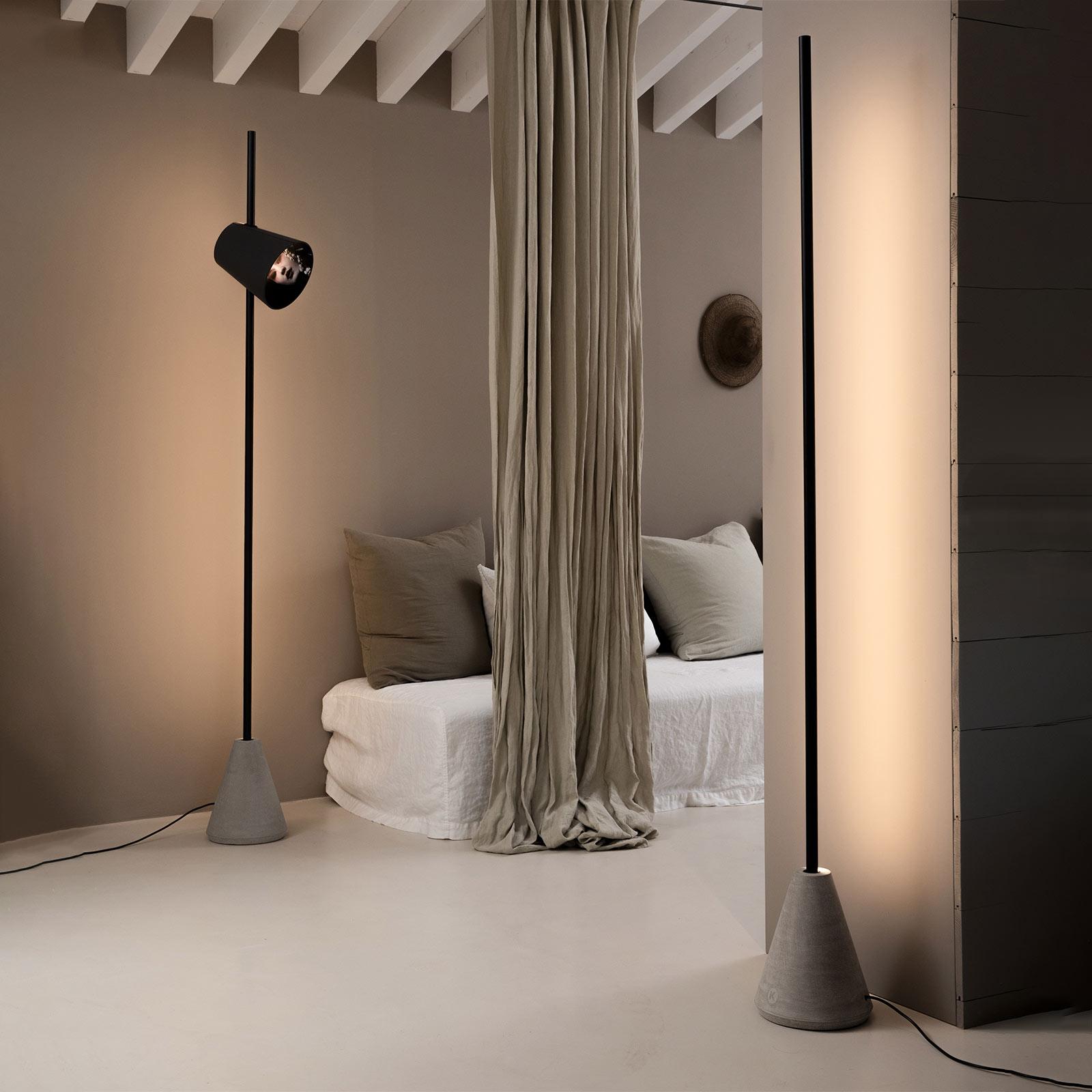 Karman Cupido skjerm for LED-gulvlampe
