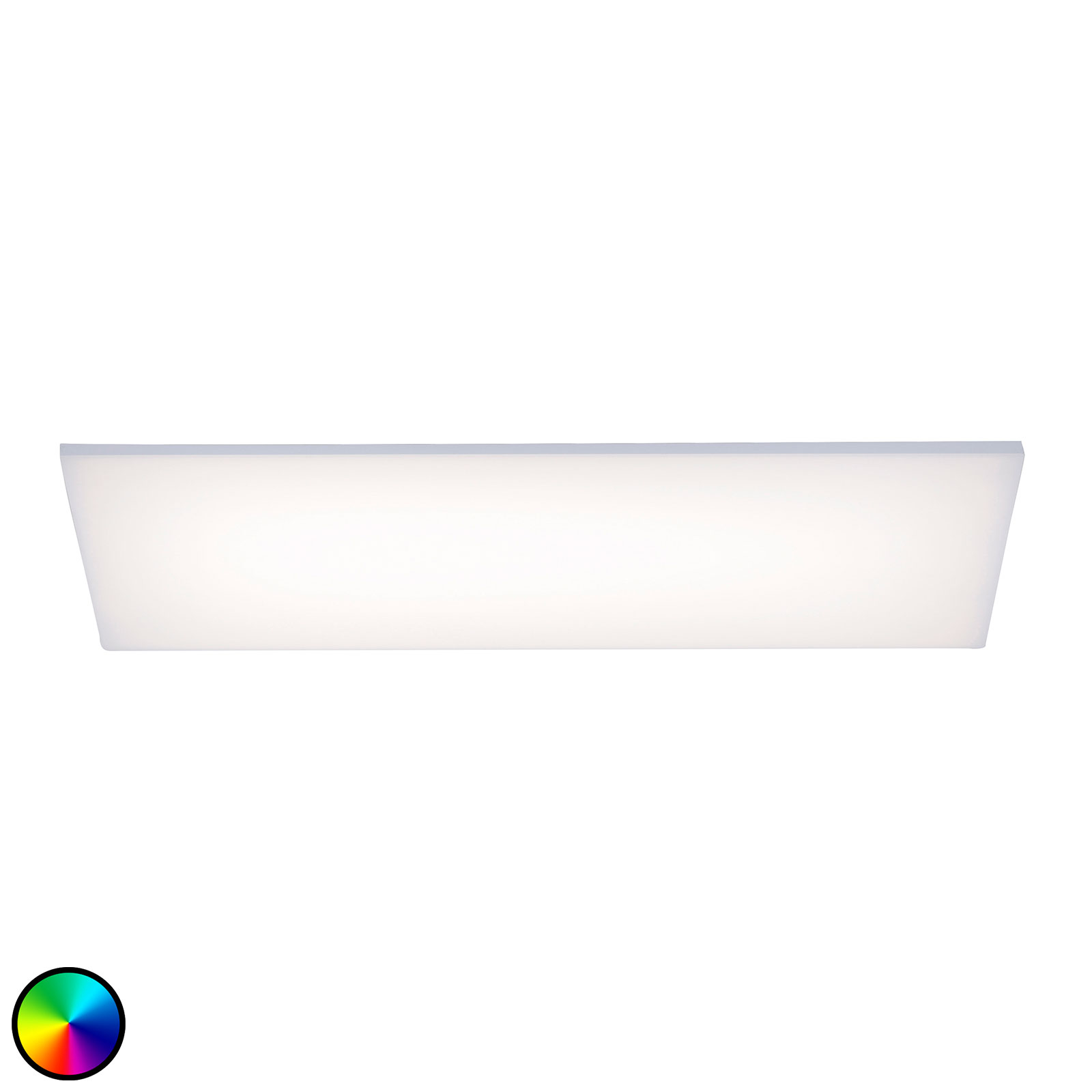 Paul Neuhaus Frameless plafondlamp RGBW 60x30cm