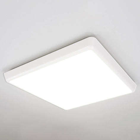 Discrete LED plafondlamp Augustin, IP54 40 cm