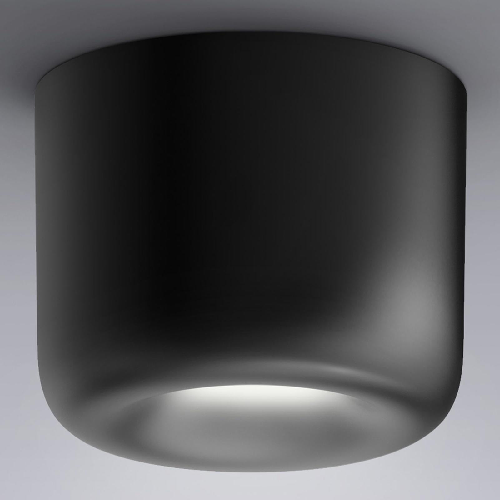 serien.lighting Cavity Ceiling L, svart