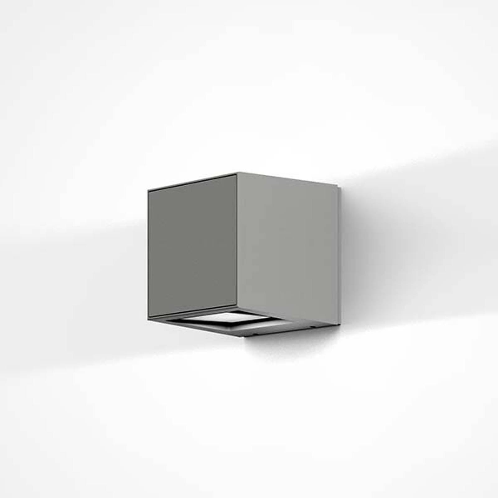 IP44.de Gap Q - LED-Außenwandleuchte, grau