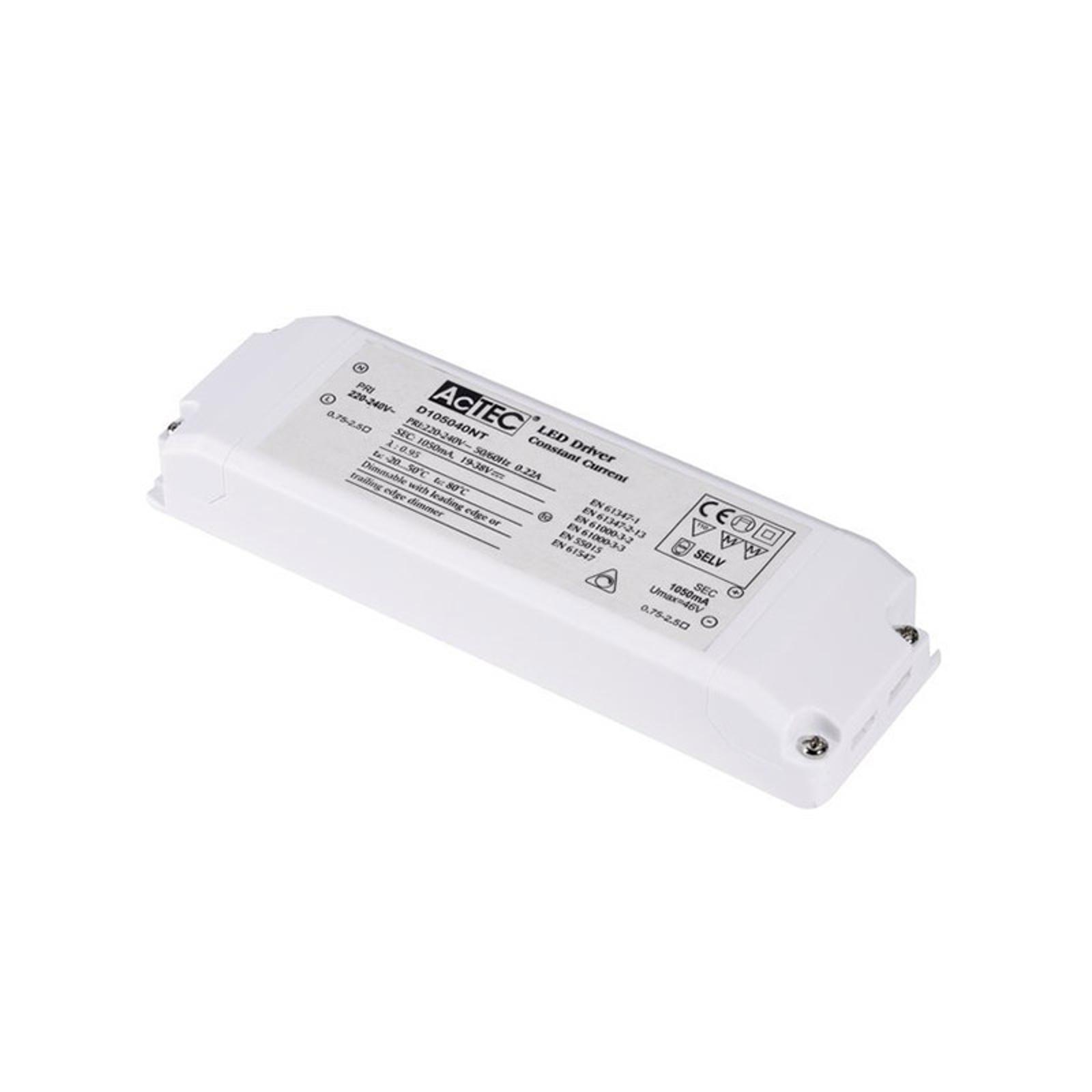 SLV LED-Treiber 1050 mA, 20-40 W, Triac