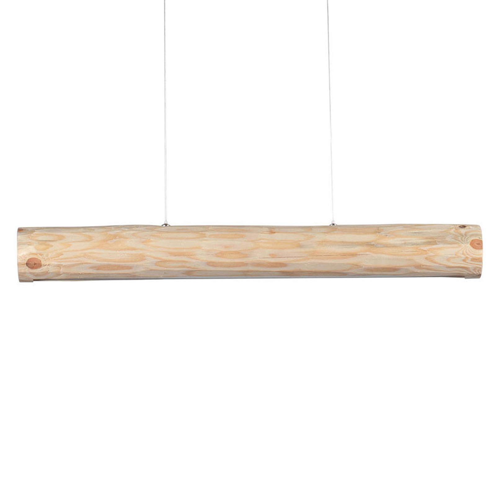 Suspension Lucas, pin naturel, 90 cm de long