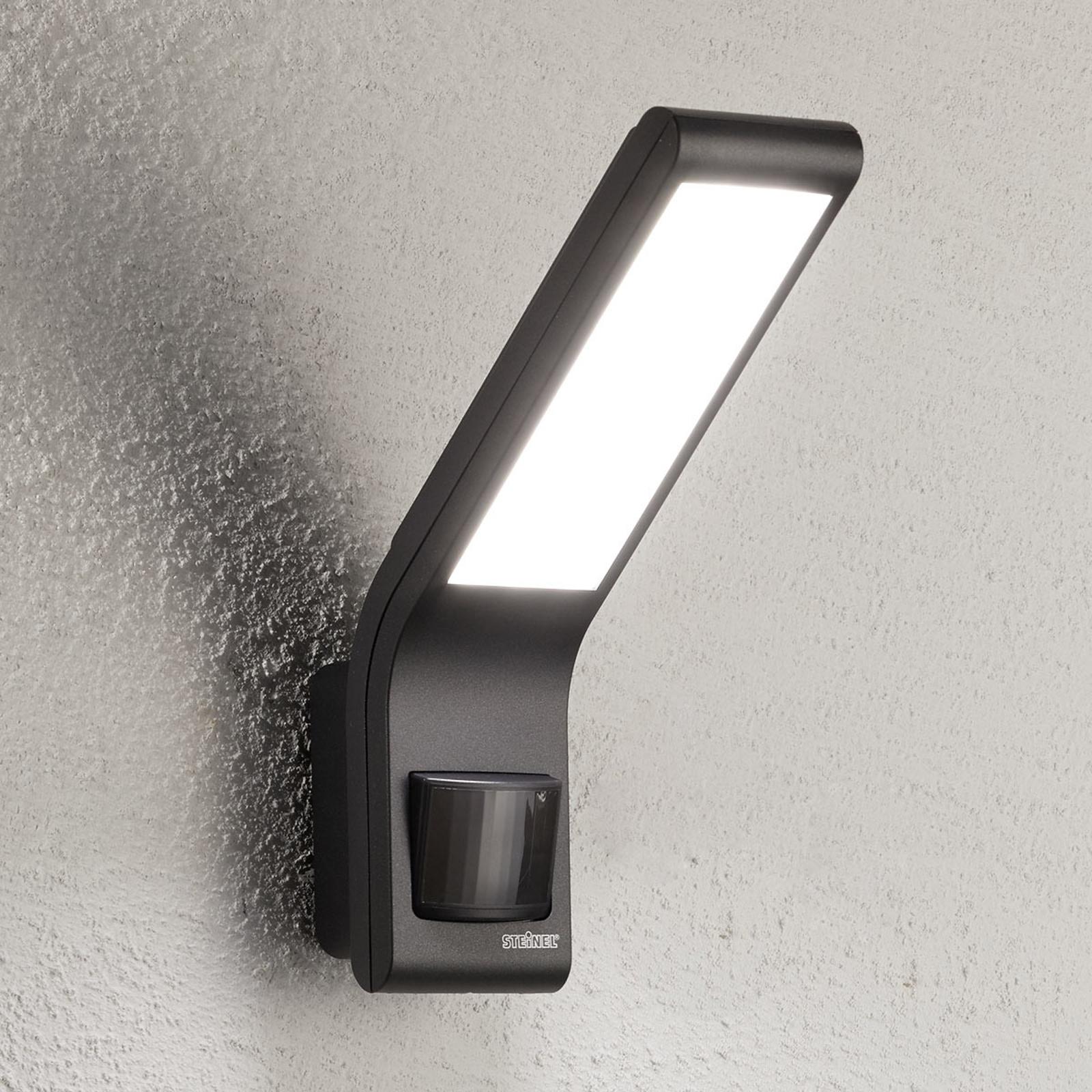 STEINEL XLED slim Sensor-Außenwandlampe anthrazit