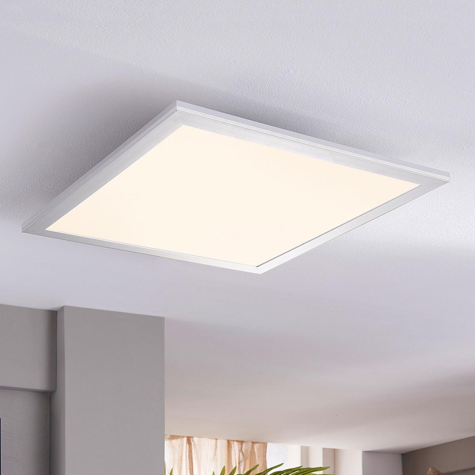 Lindby Livel LED-panel, 4000 K, 40 x 40 cm