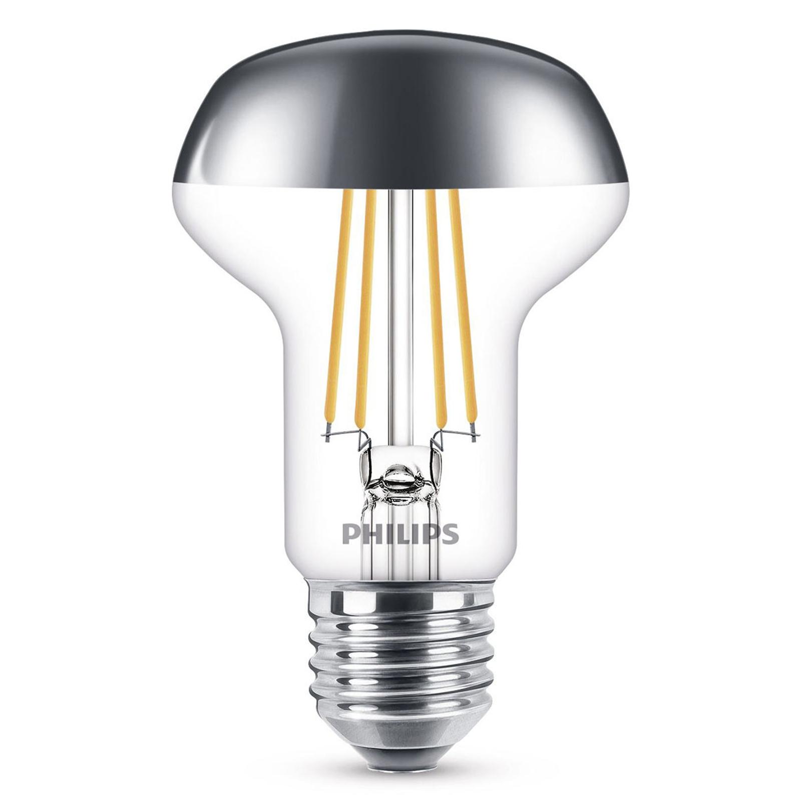 Philips E27 R63 LED-Reflektor 827 4W Kopfspiegel