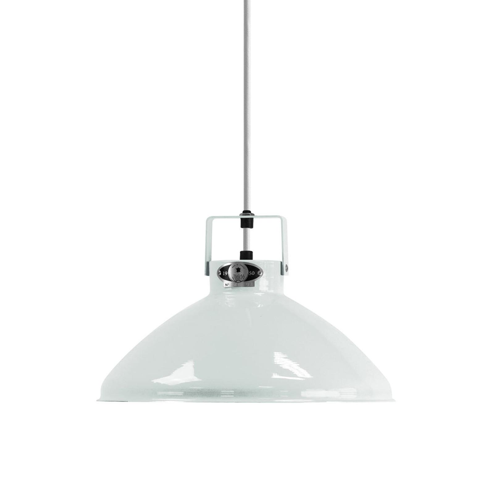 Jieldé Beaumont B240 lampa wisząca biała lśniąca