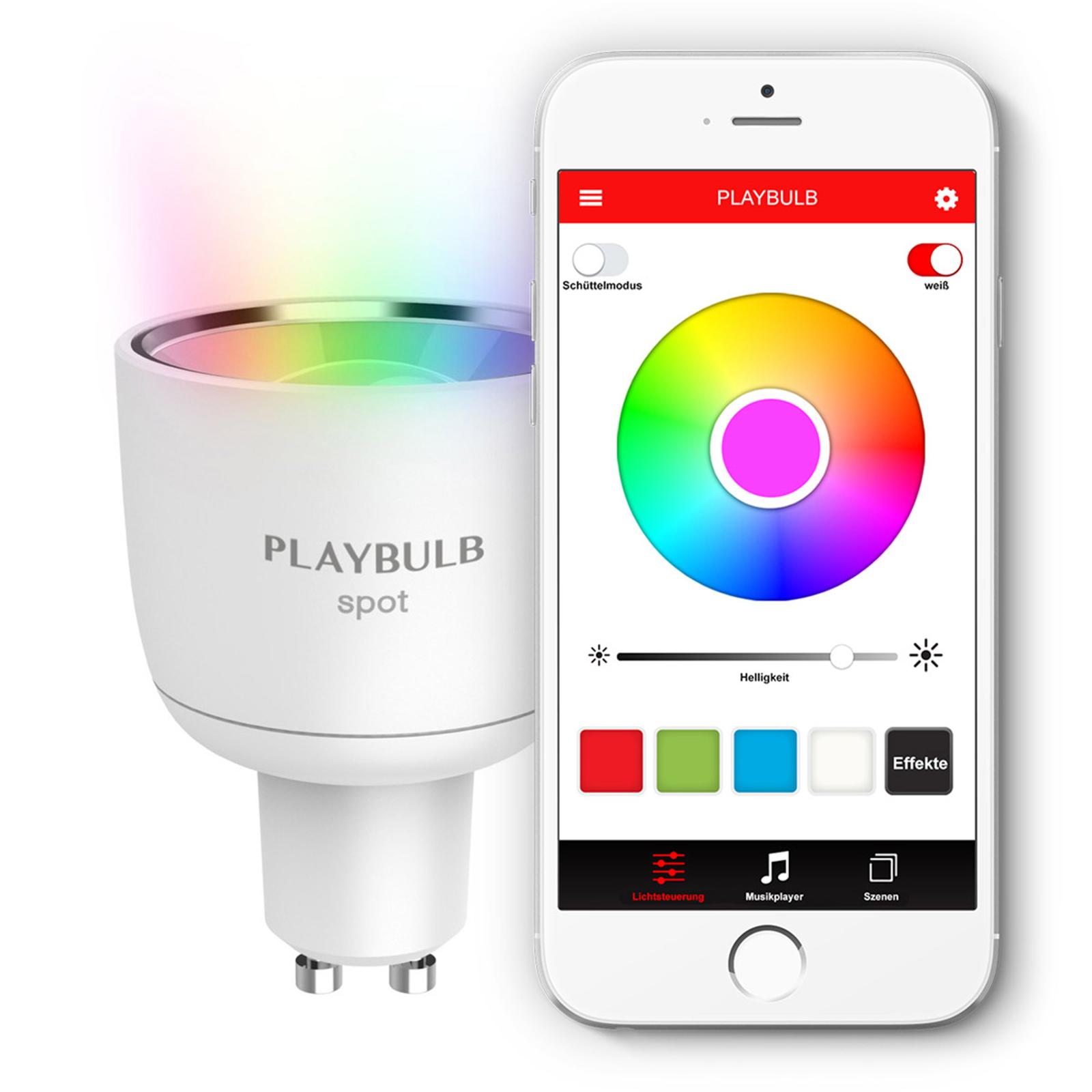 MiPow Playbulb Spot 1 x ampoule LED RVB GU10 4W