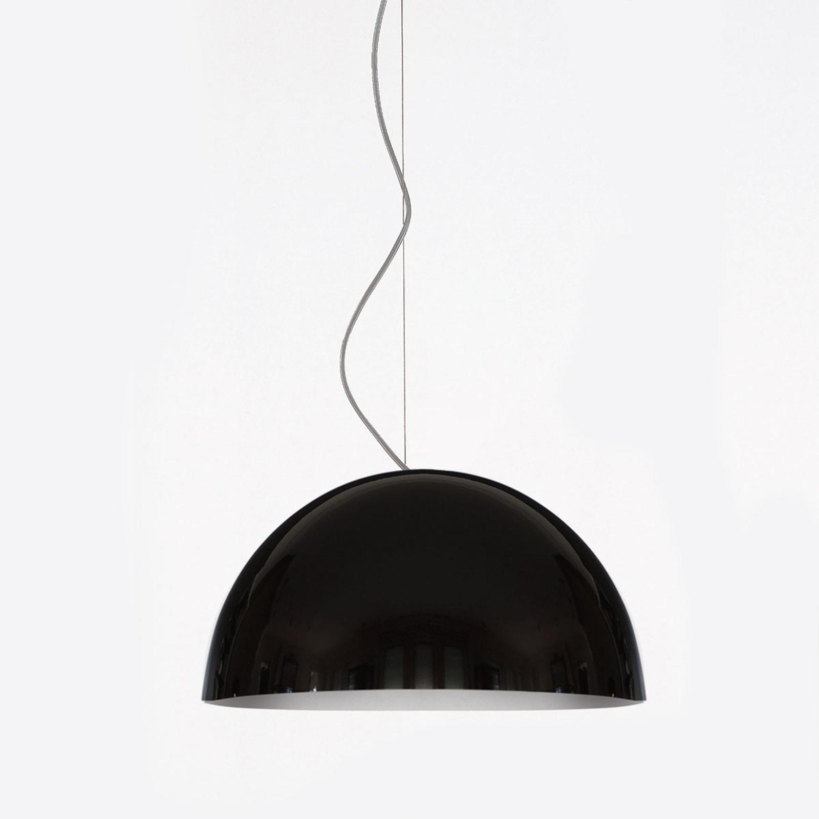 Oluce Sonora - suspension noire, 38cm