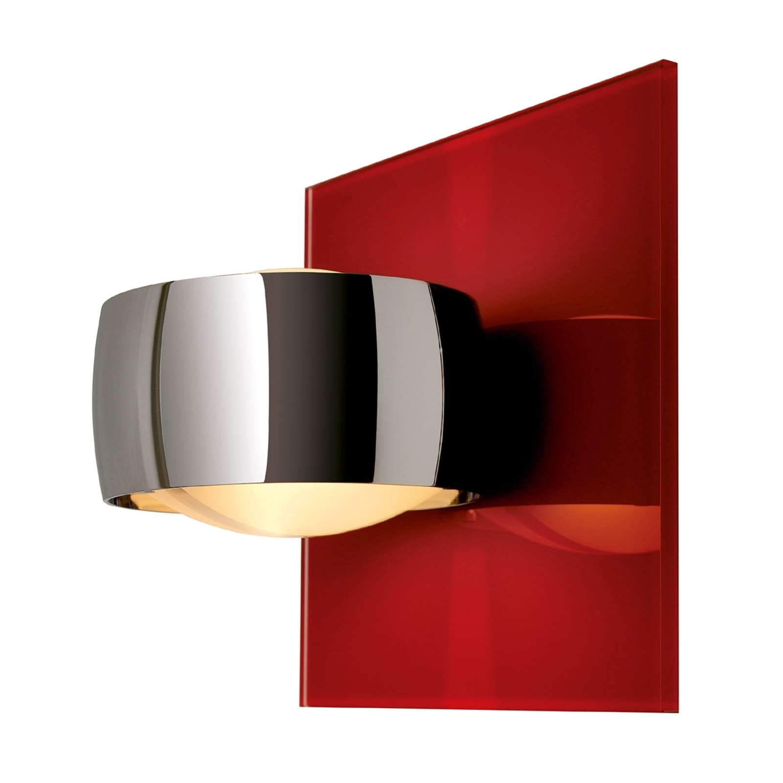 Decorativa applique GRACE UNLIMITED rosso/cromo
