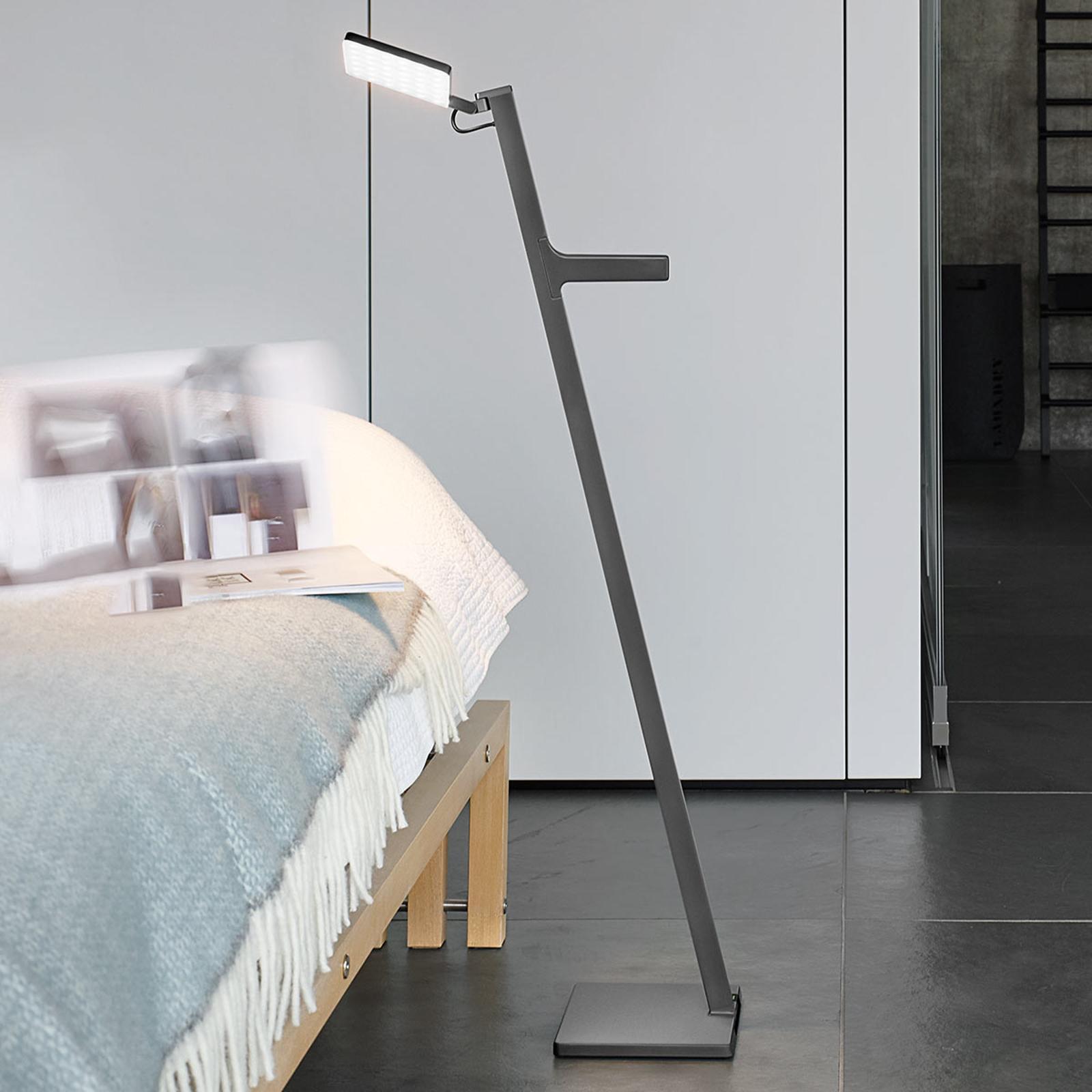 Nimbus Roxxane Leggera lampadaire LED, gris