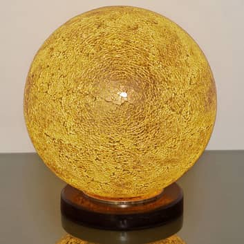 Tischleuchte Narziso, amber