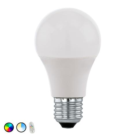 EGLO connect LED-Lampe E27 9 W RGBTW Fernbedienung