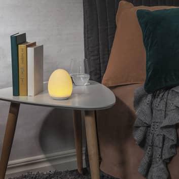 Lámpara nocturna LED 357-61, táctil, batería, RGBW