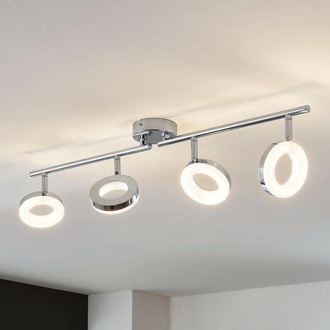 LED-Deckenleuchte Ringo 4-flammig