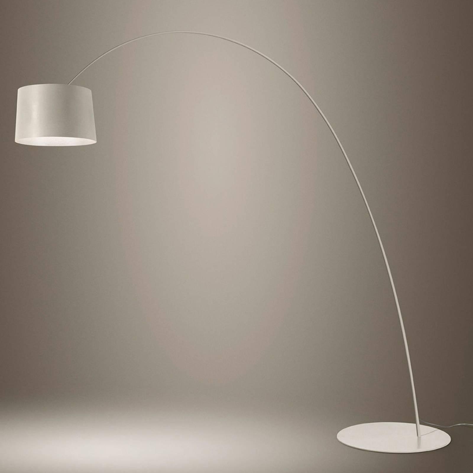 Foscarini Twiggy LED-Stehleuchte greige