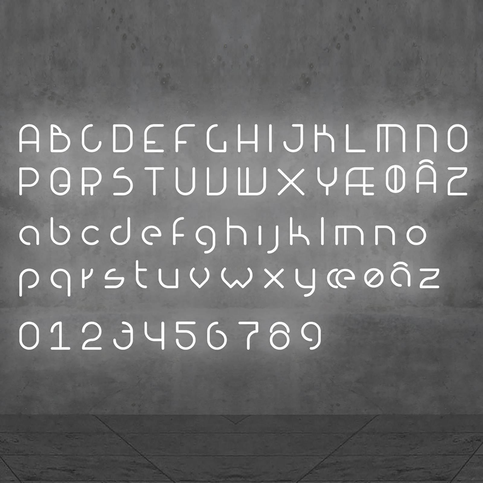 Artemide Alphabet of Light Wandleuchte Zahl 0