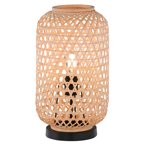 Mooier wonen Calla tafellamp natuur hoogte 42 cm