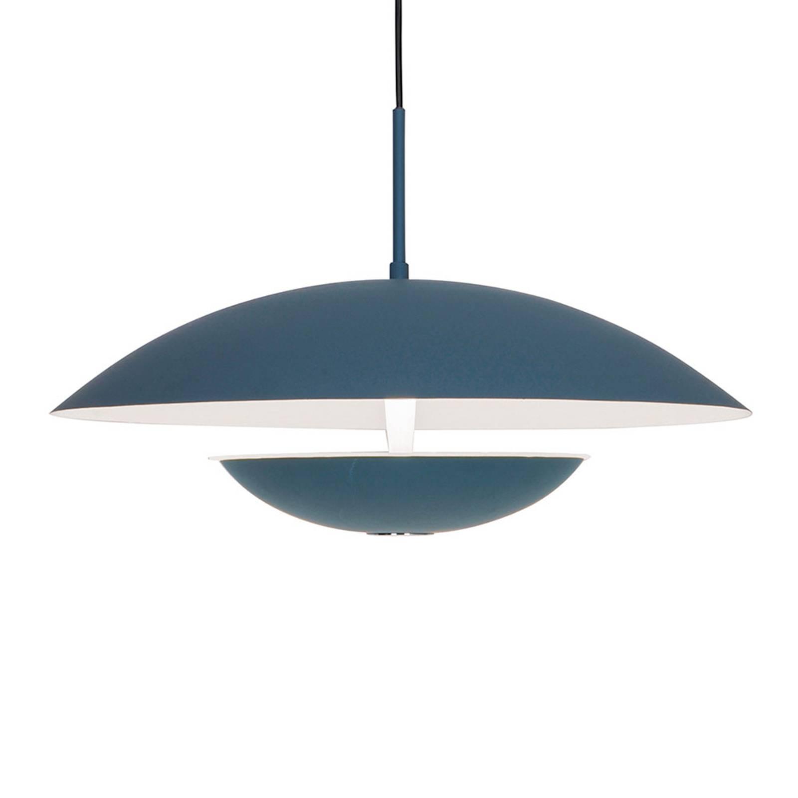 LED-Hängeleuchte Monica, grau/weiß