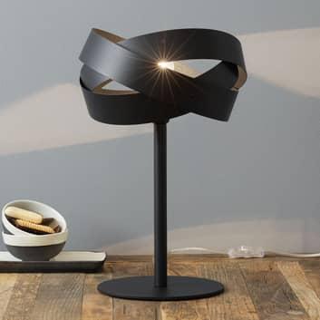 Decorativa lampada da tavolo Tornado