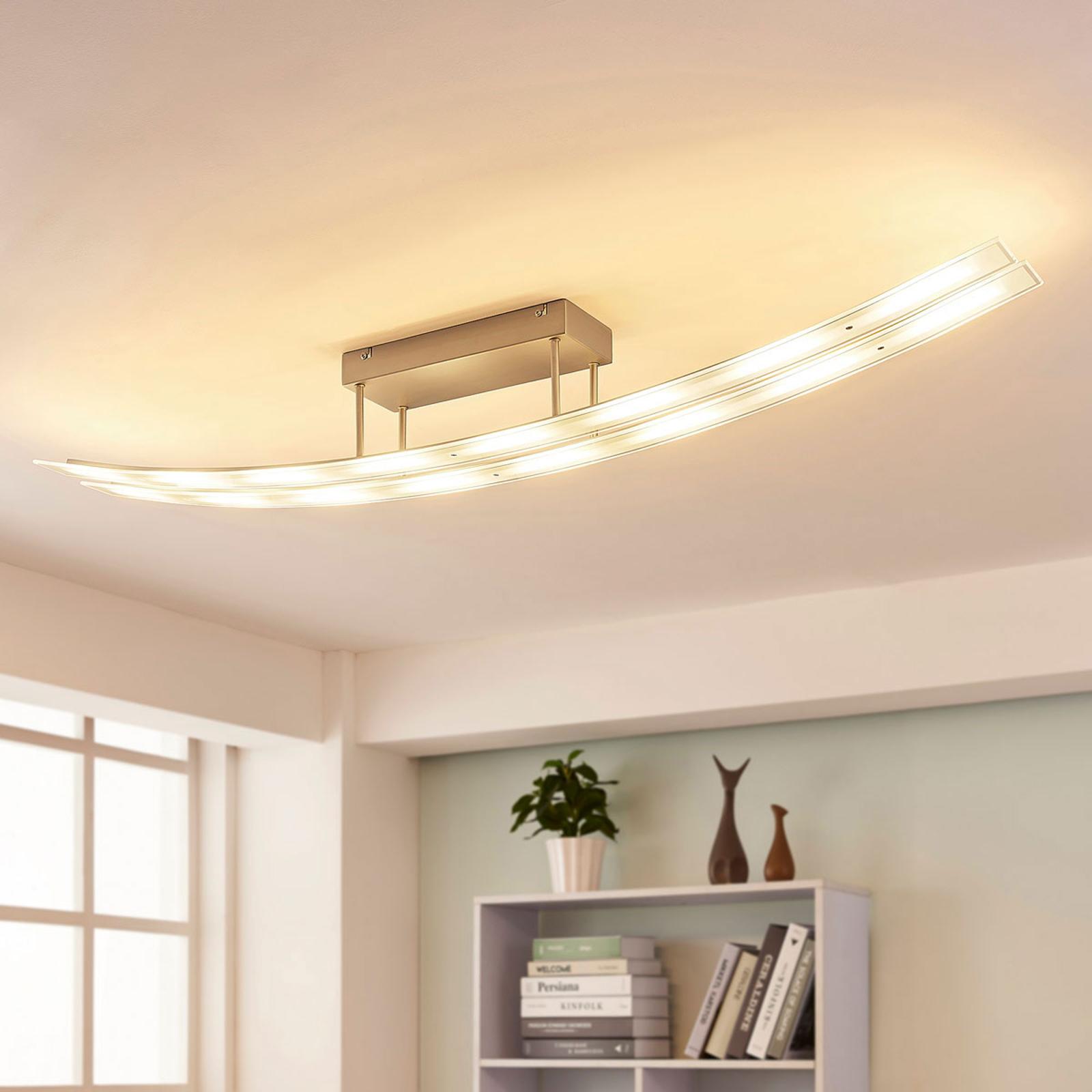 Ściemnialna lampa sufitowa LED Jarda