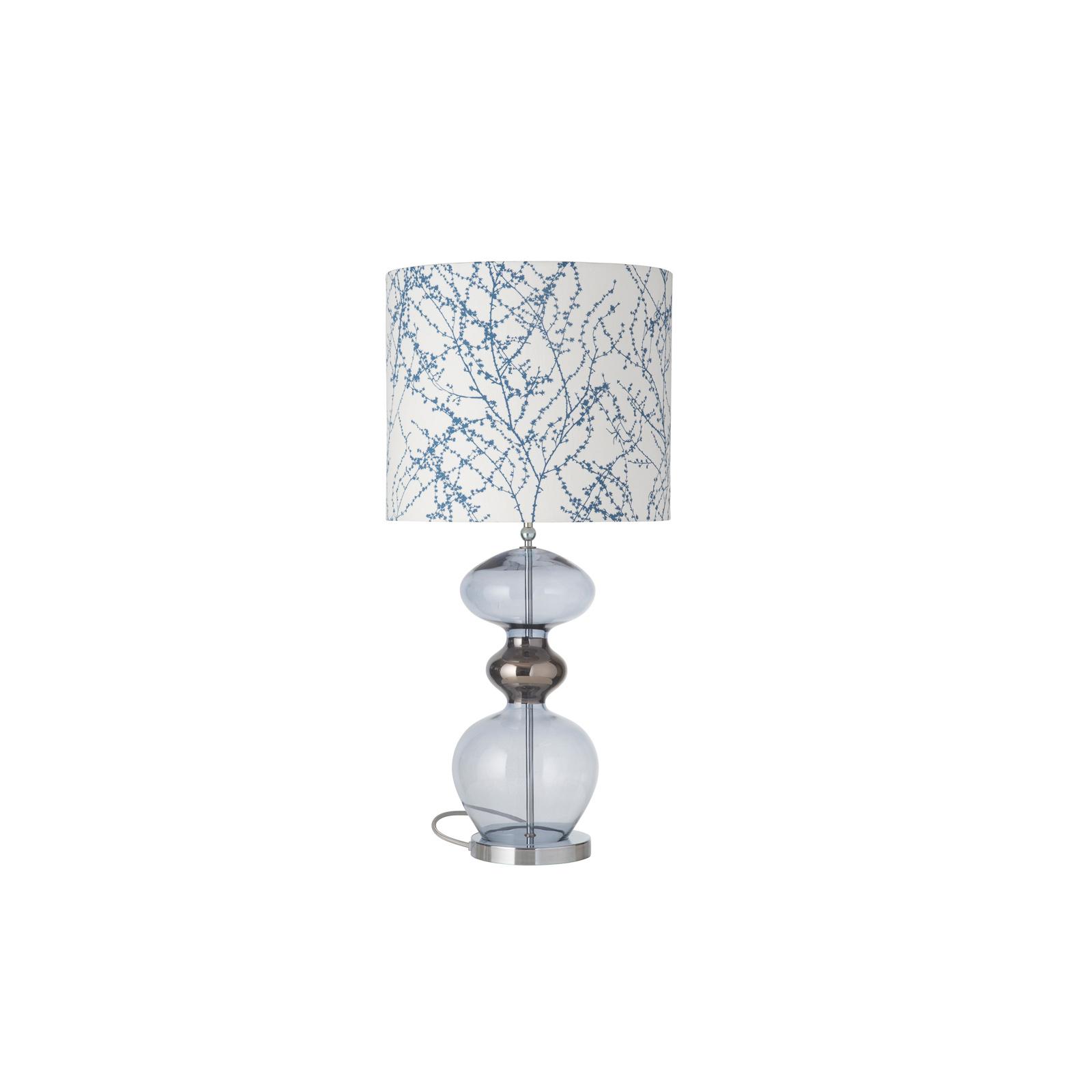 EBB & FLOW Futura lampa stołowa Branches indigo