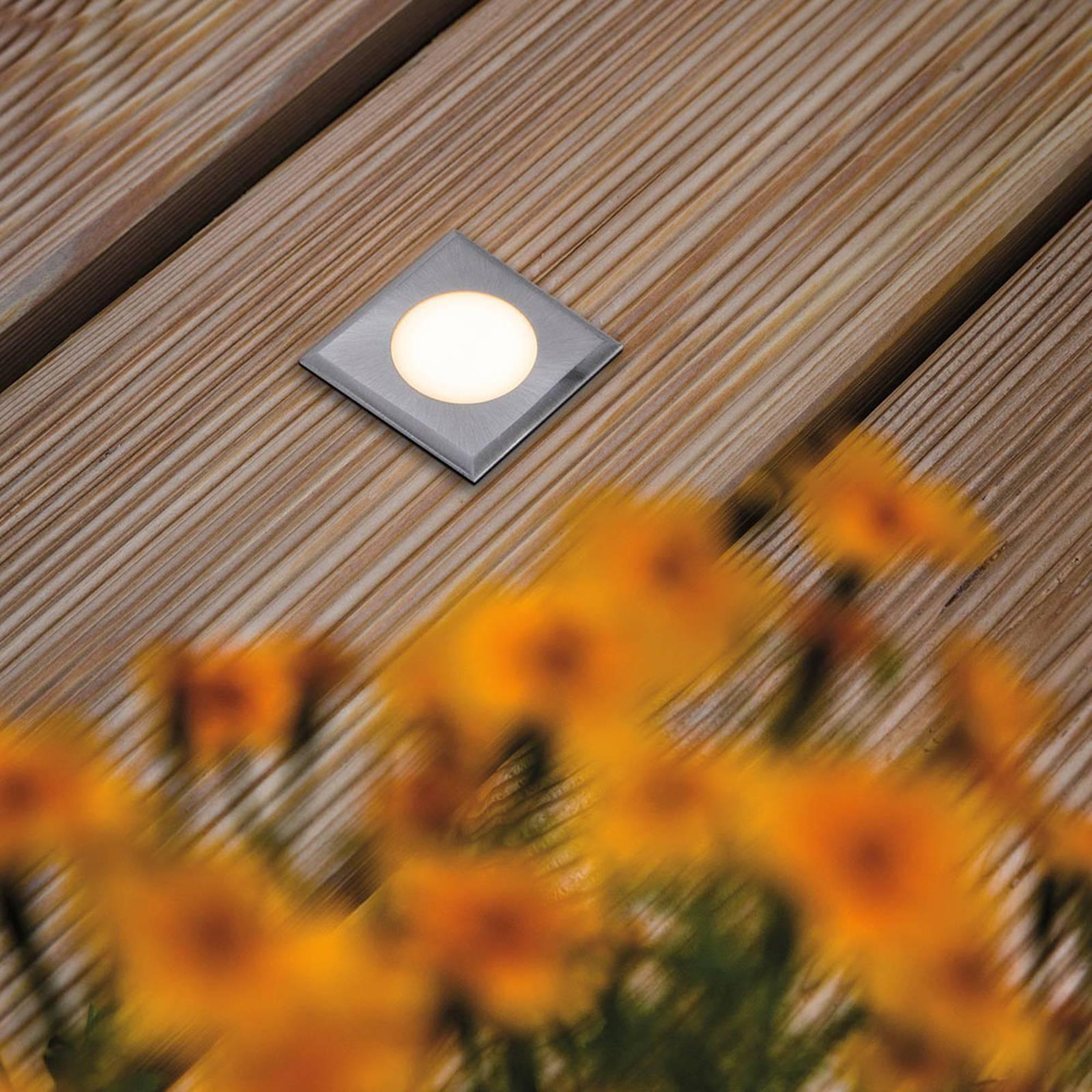 Paulmann House grondspot lamp IP65 hoekig vlak