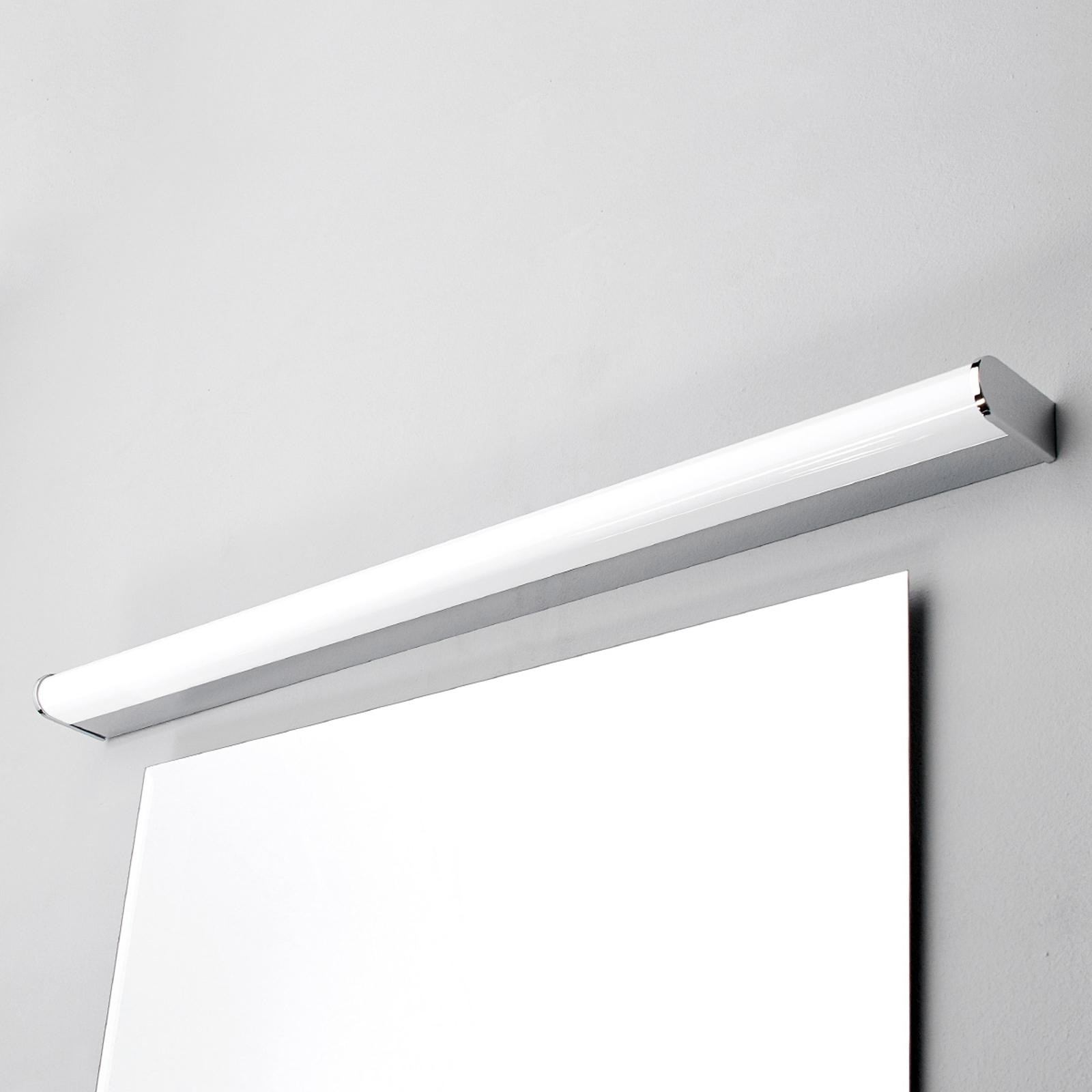 LED-bad- og speillampe Philippa halvrund 88cm