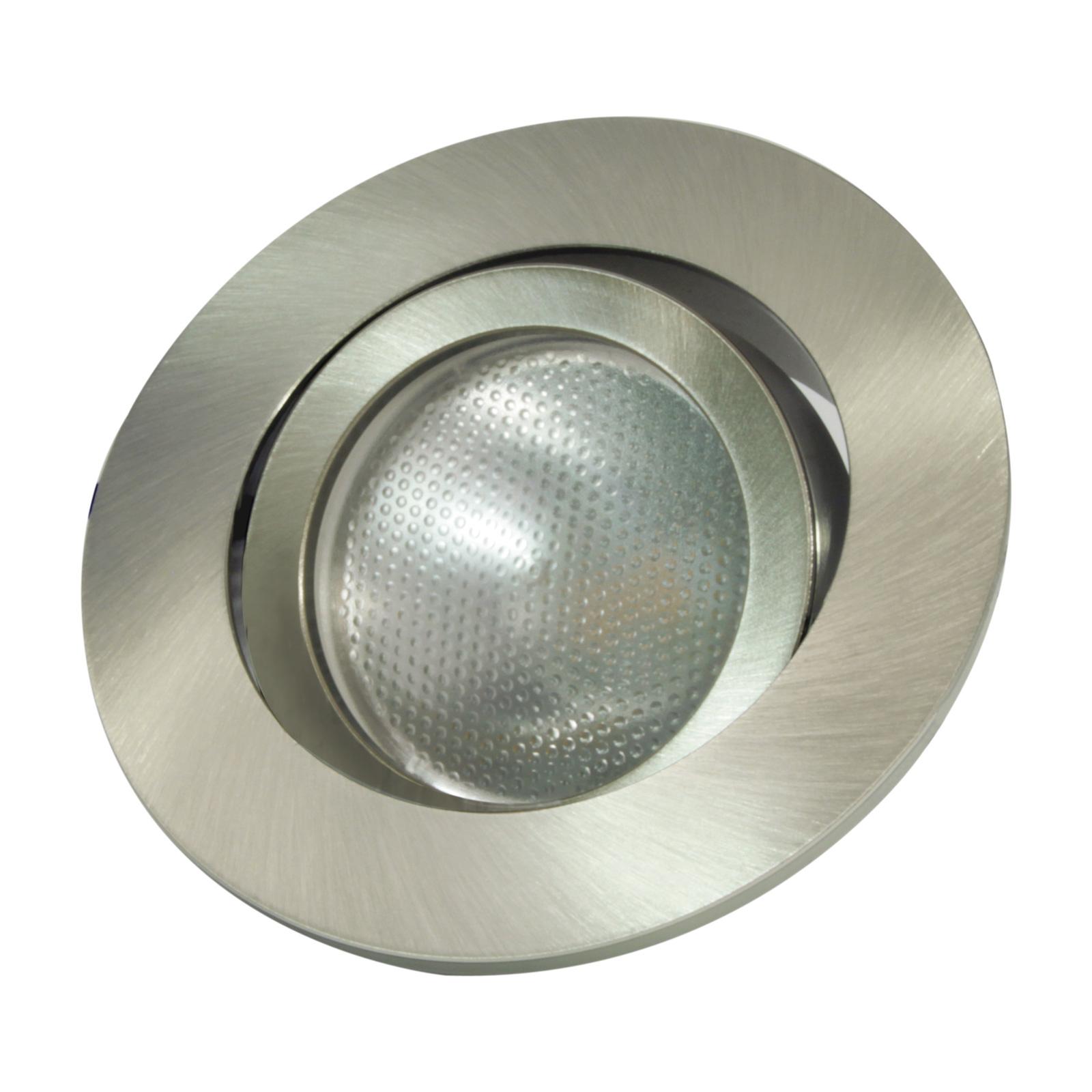 LED-Einbauring Decoclic GU10/GU5.3, rund, eisen