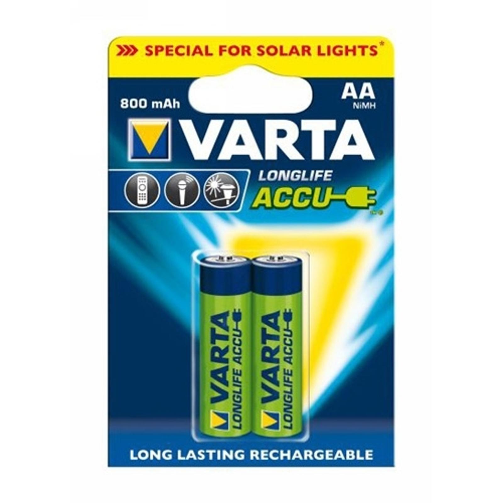 Batteries Varta AA Mignon 56736 1,2V 800 m/Ah