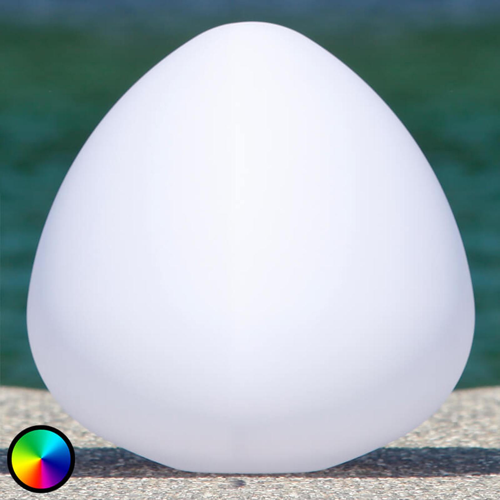Have-dekorationslampe Stone XL - styrbar