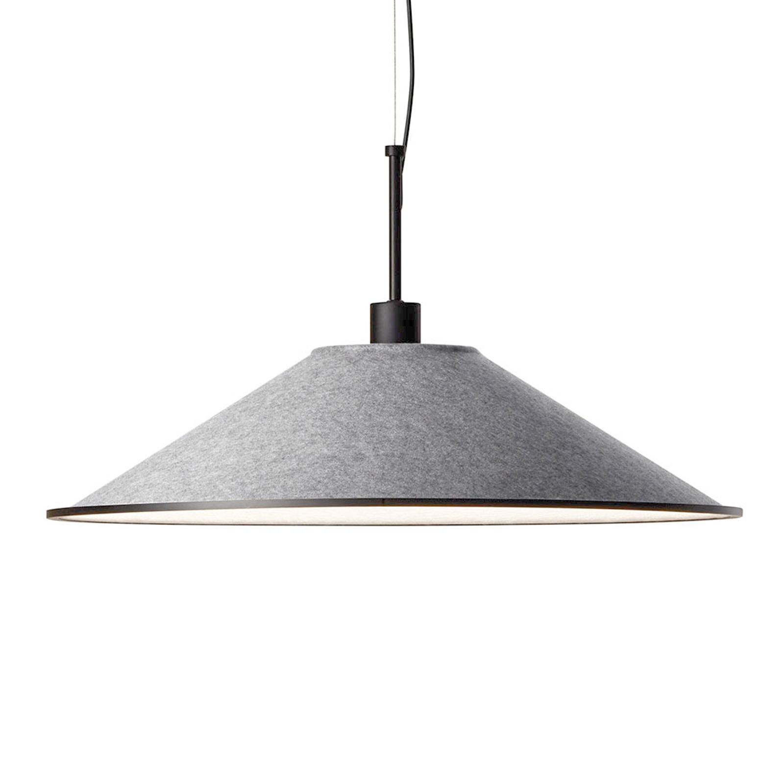 Grok Shoemaker suspension LED ronde CCT gris clair