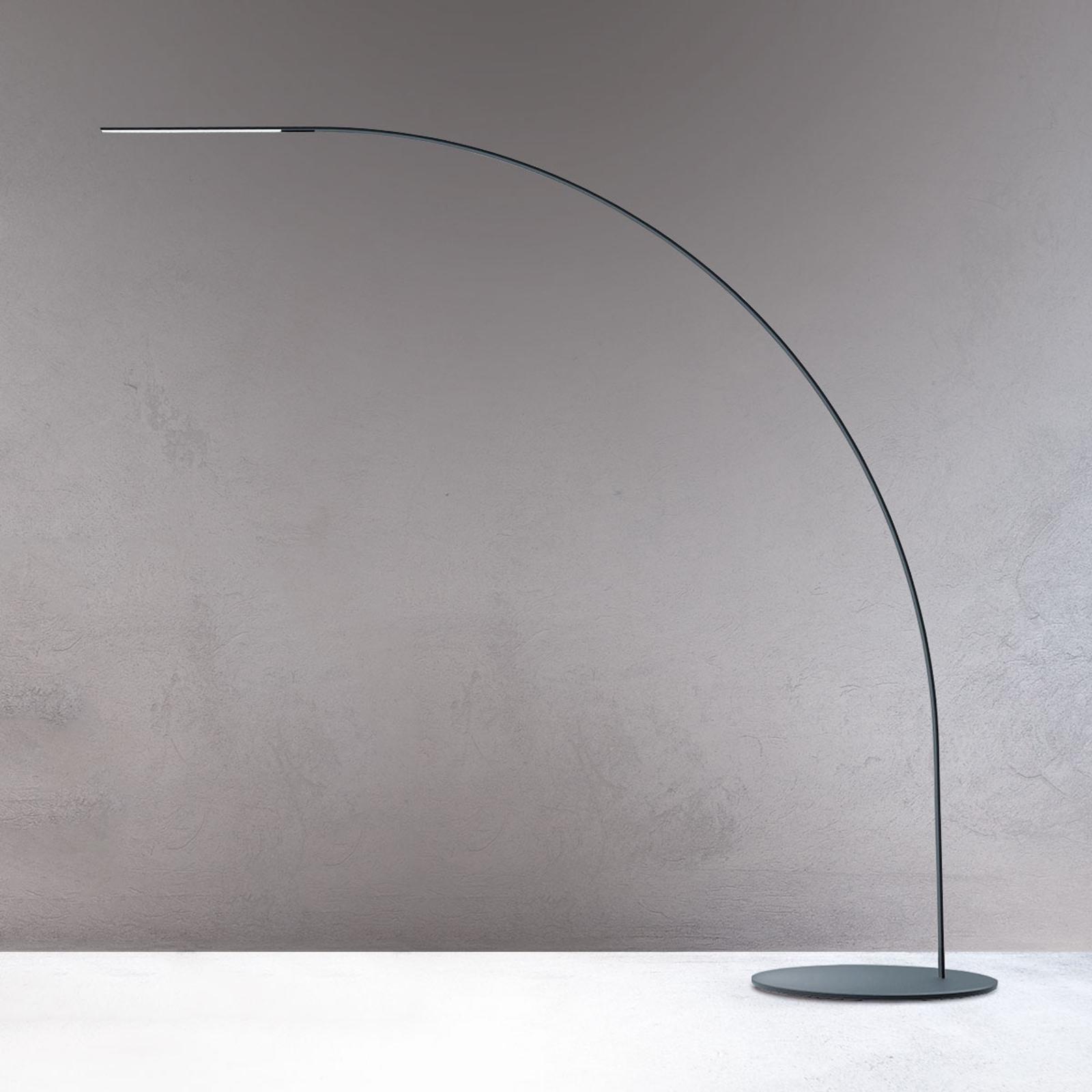 Yumi - designerska lampa w kształcie łuku LED