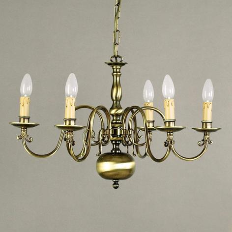 IMKE lysekrone i flamsk stil