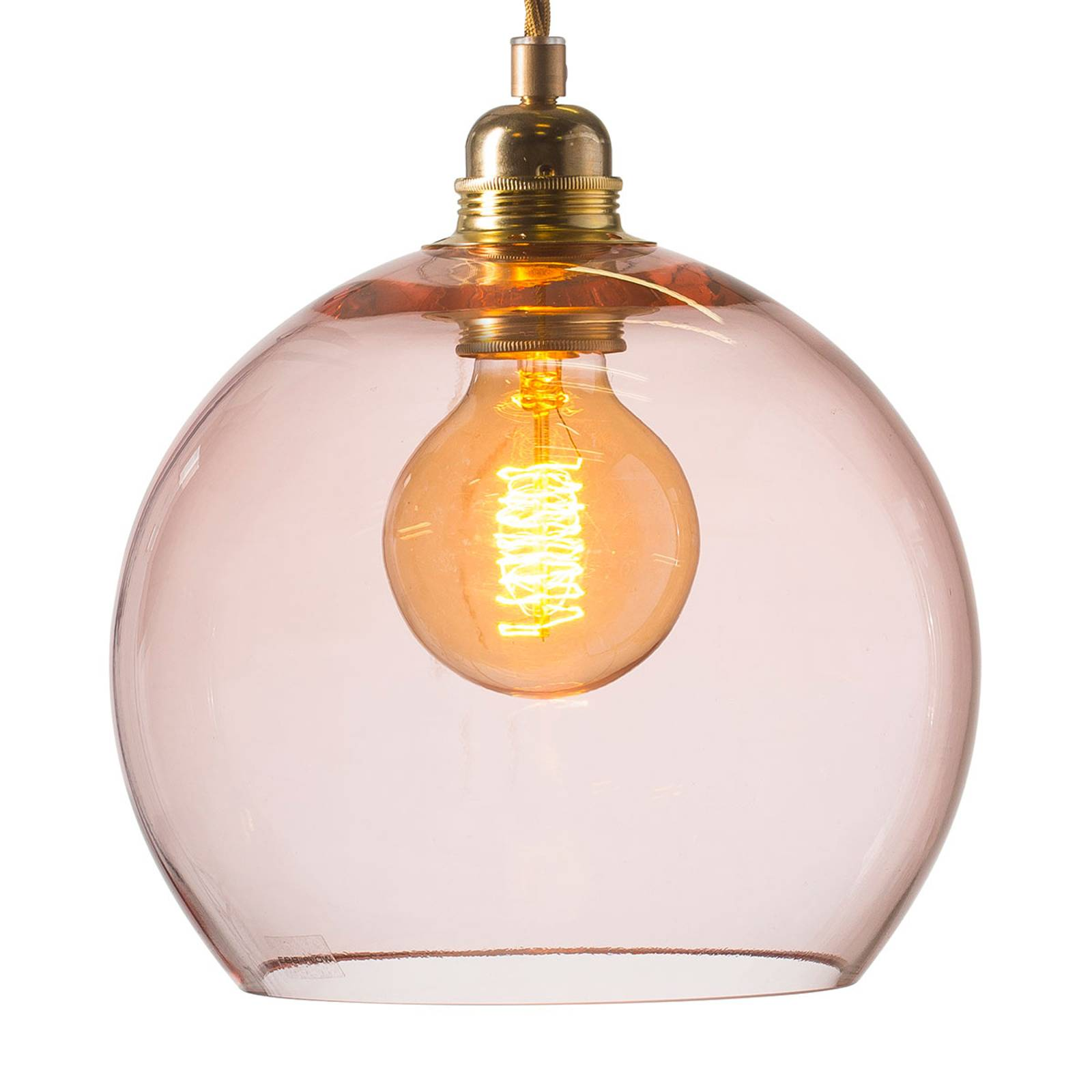 EBB & FLOW Rowan hanglamp rosé-goud Ø 22cm