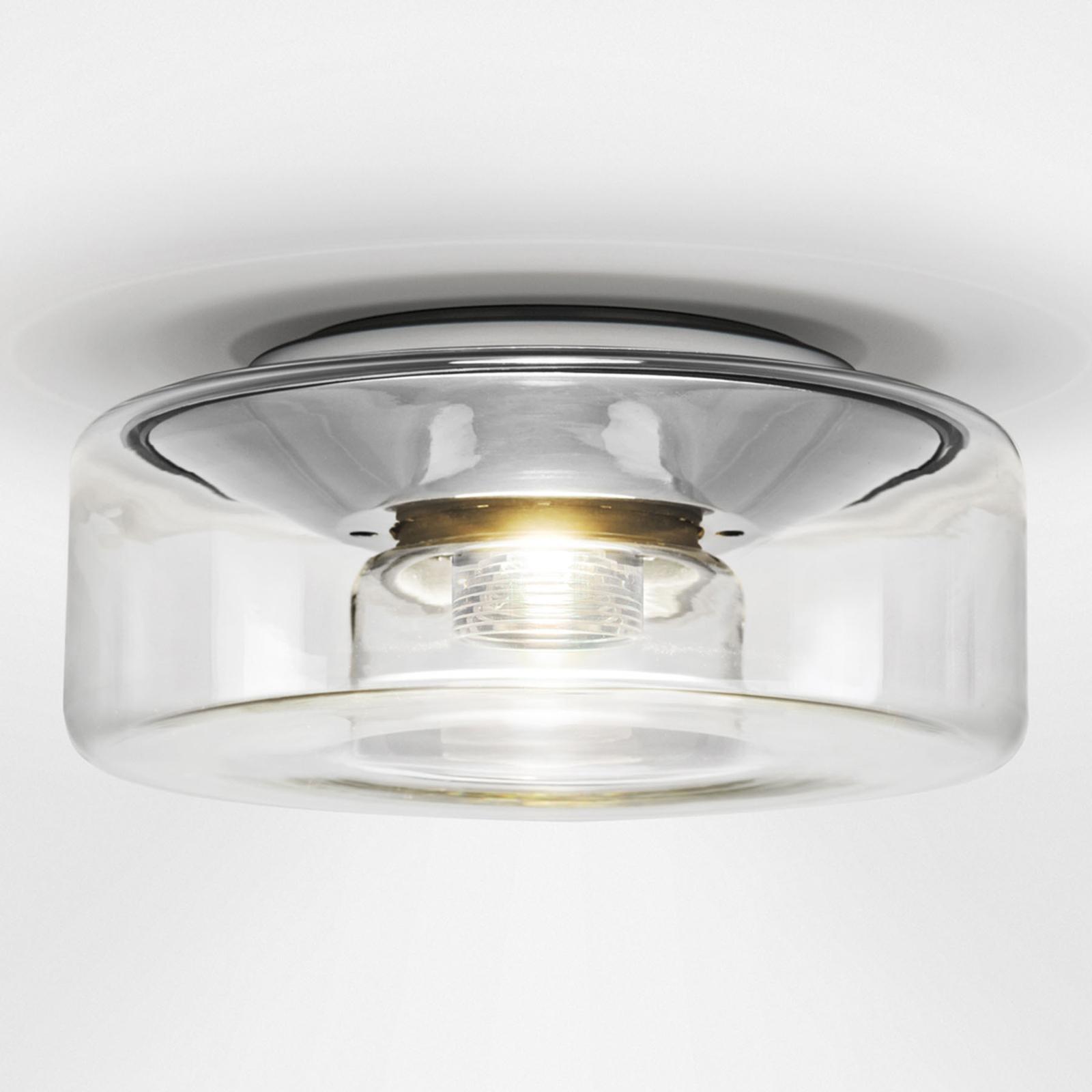 serien.lighting Curling S Decke 2.700K Acryl klar