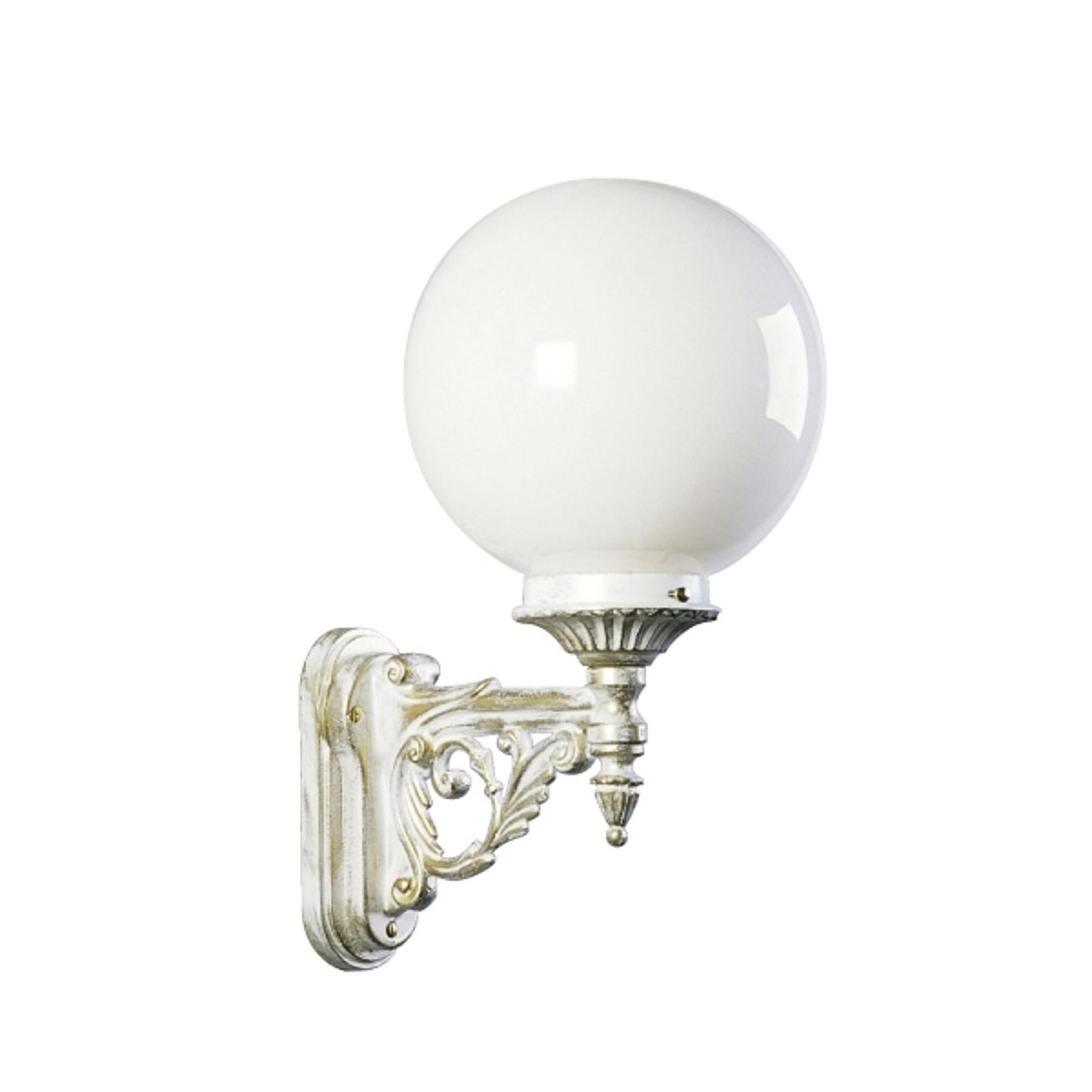 Dekoracyjna zewnętrzna lampa ścienna GOL 160