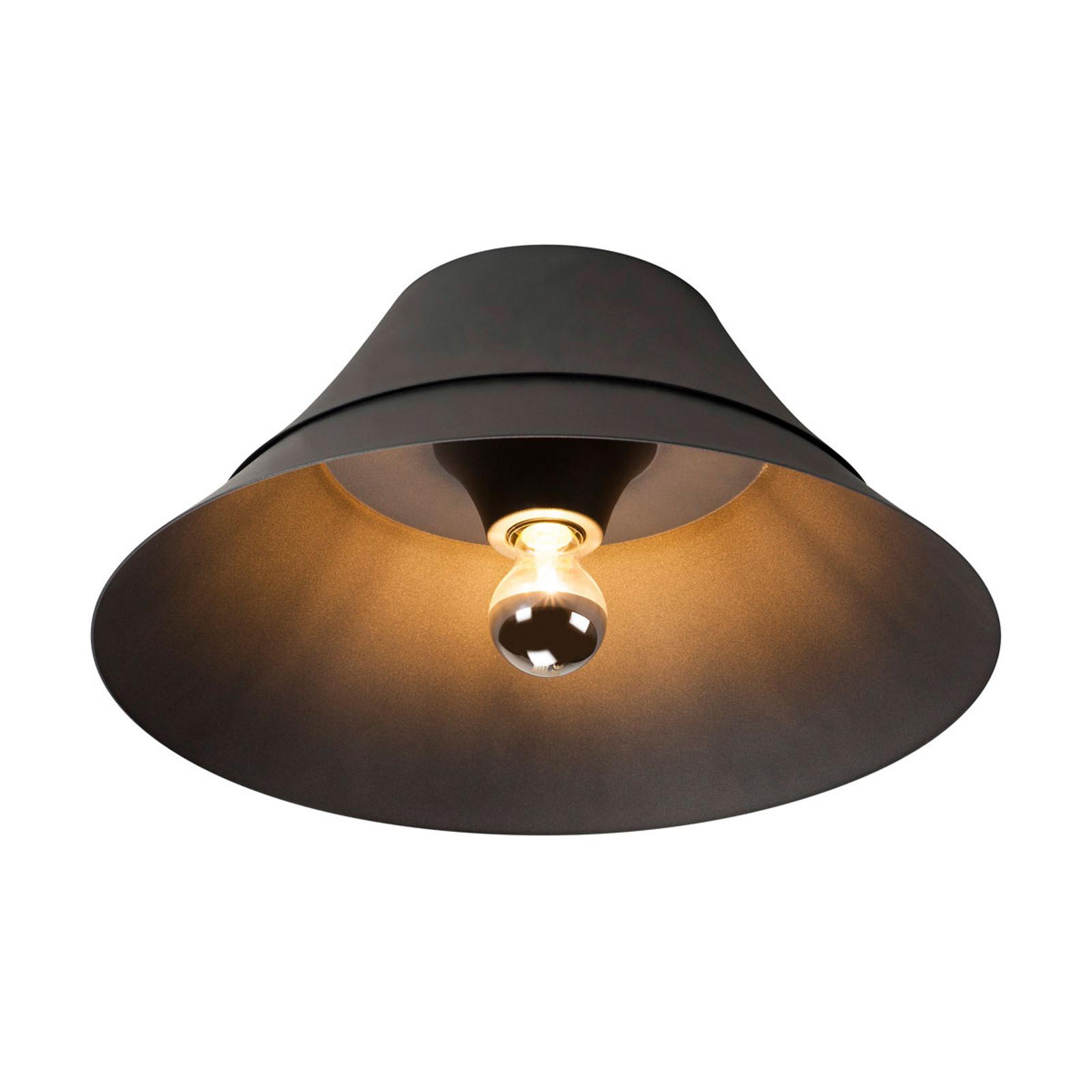 SLV Bato 45 taklampe E27, svart