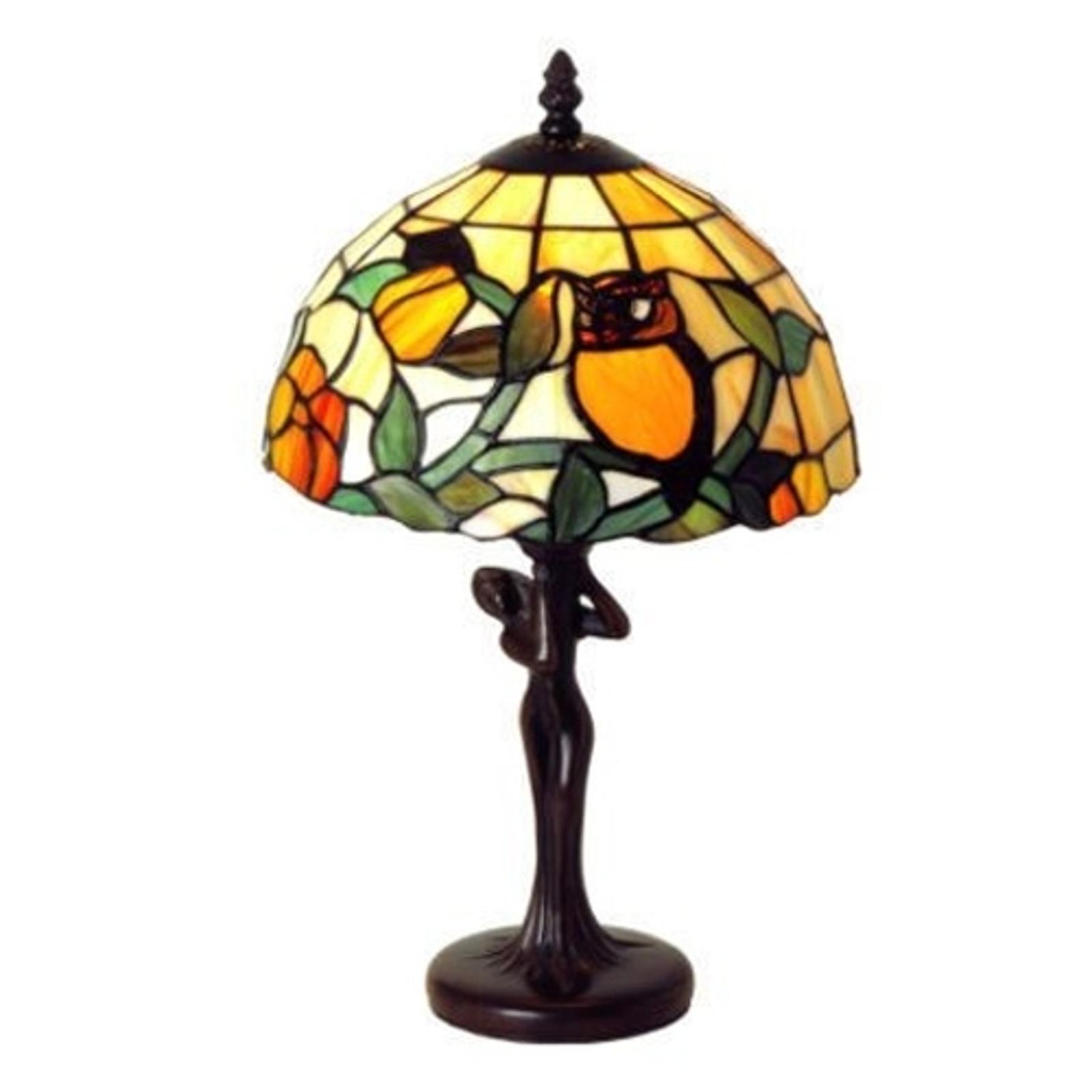 LIEKE - stolní lampa v Tiffany stylu