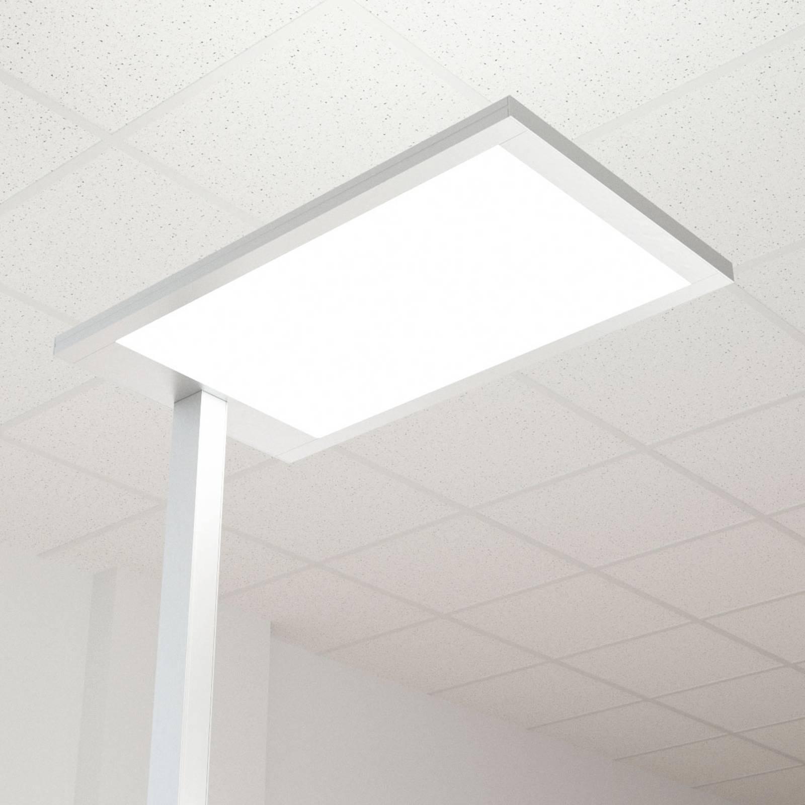 Lampadaire de bureau LED Javier. direct-indirect